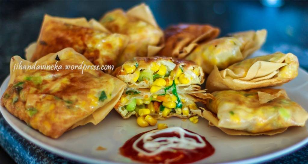 Resep food Combining Martabak Jagung