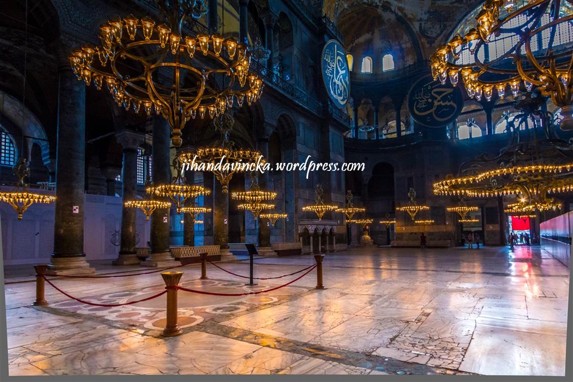 Hagia Sophia, Aula (pic by Dani Rosyadi)