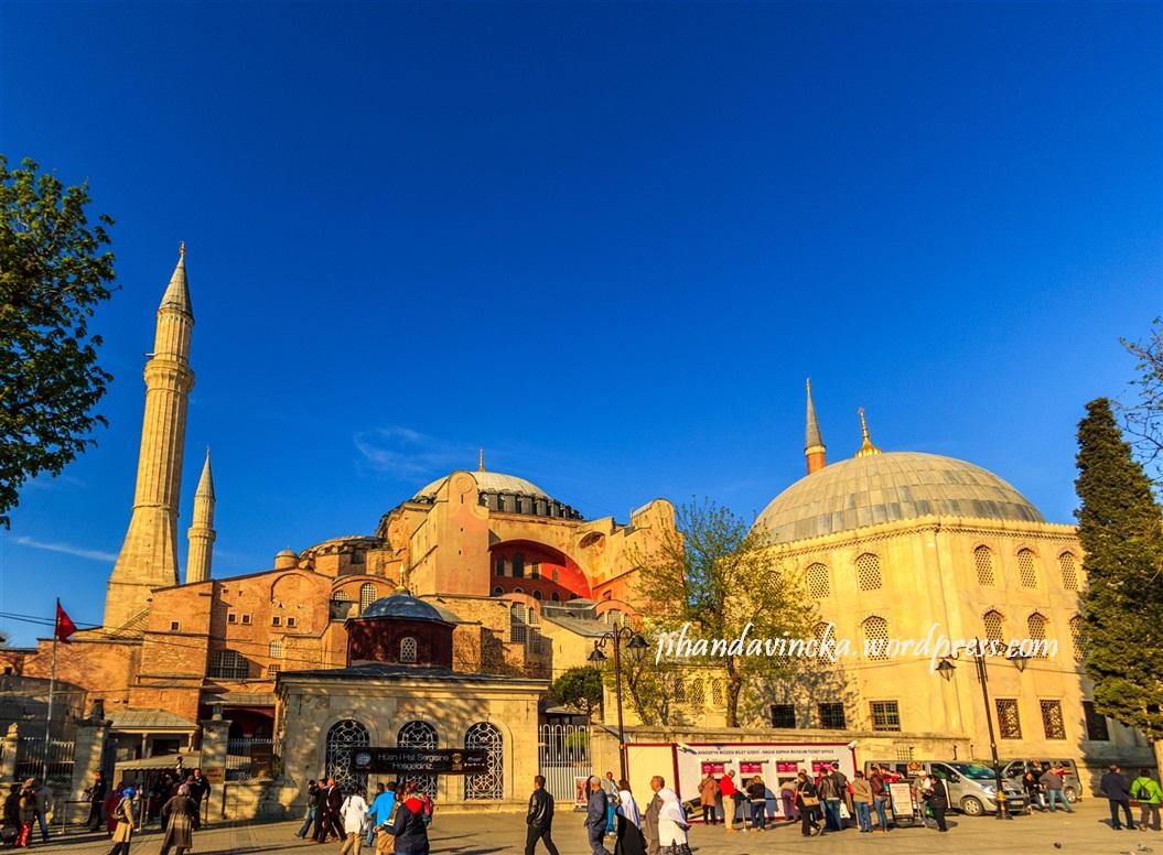 Sejarah Turki Hagia Sophia (pic by Dani Rosyadi)