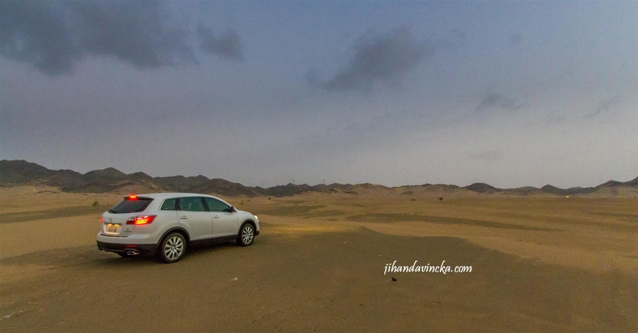 Gurun Bahrah Padang Pasir di Arab Saudi