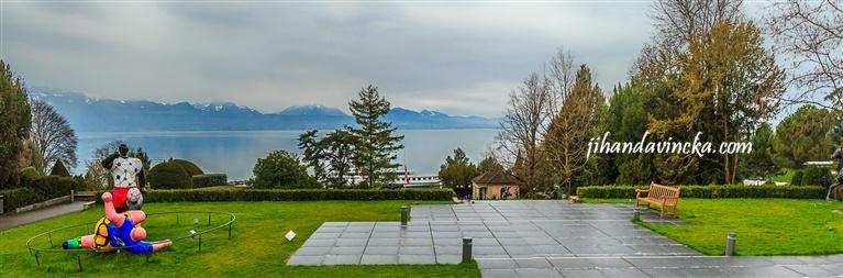 Olympic Museum Park, Lausanne Swiss , objek wisata di swiss