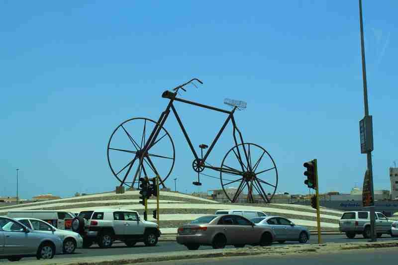 """""""Sepeda Nabi Adam"""". Gambar : Dani Rosyadi"""