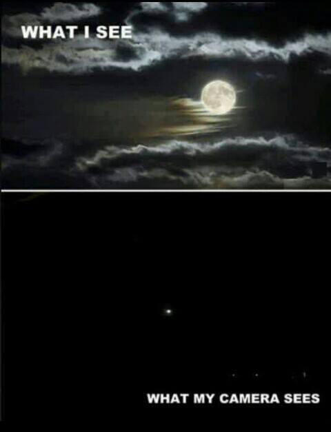 Meme ilustrasi kamera vs mata manusia :D