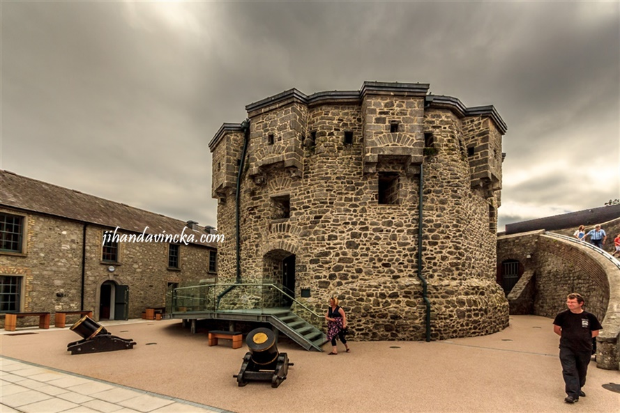 Inside Athlone Castle, Ireland, pic : Dani Rosyadi