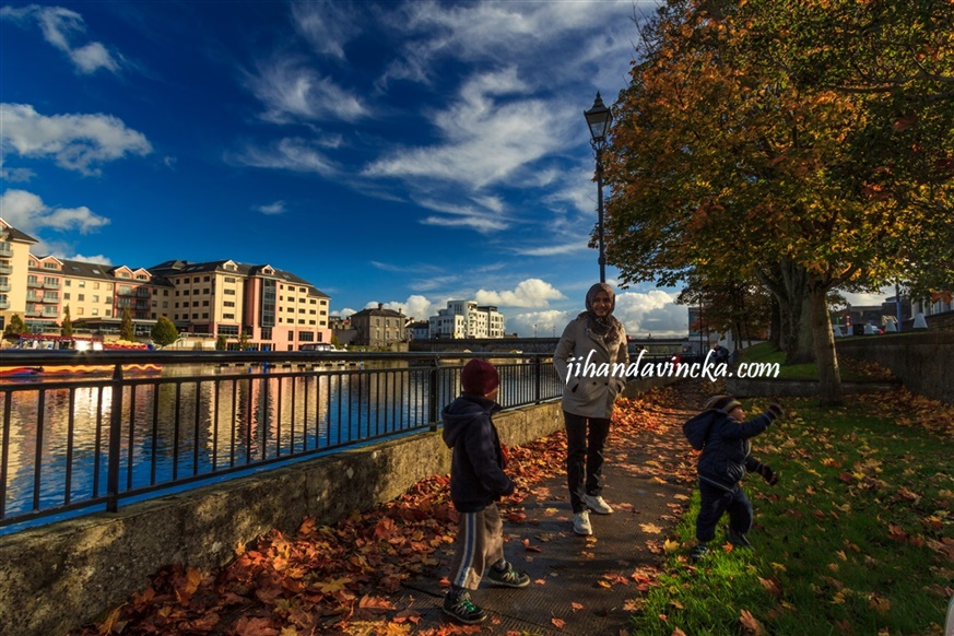 Shannon River Athlone Ireland pic dani Rosyadi