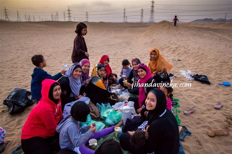 Kehidupan ibu-ibu di Jeddah