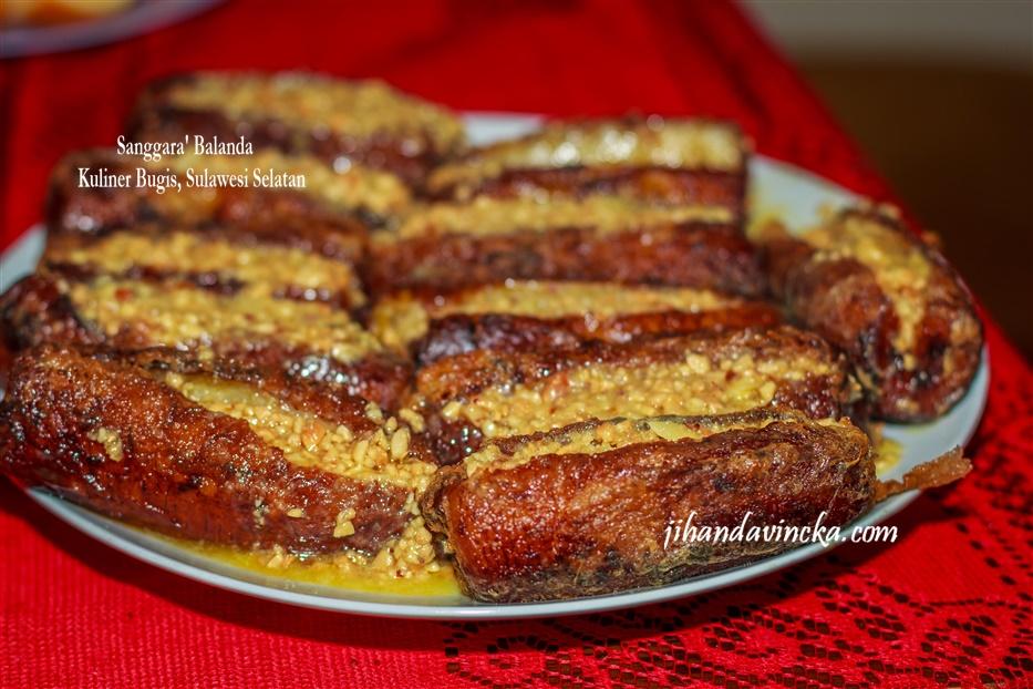 Resep kue Sanggara Belanda masakan sulawesi