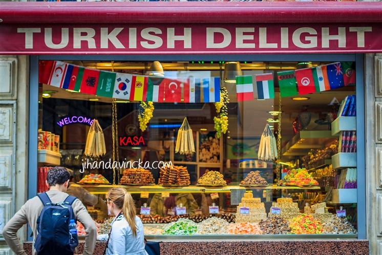 Sejarah Turki Istanbul baklava kue enak manis