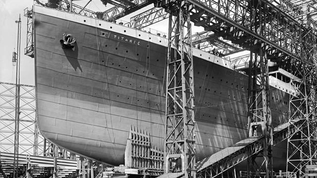 Museum Titanic Proses pembuatan Kapal Titanic