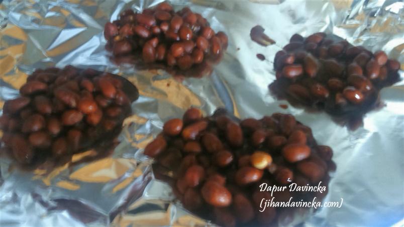 Cara membuat gula kacang ampyang kacang gula merah