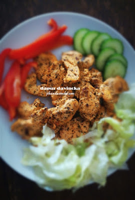 Cara Membuat Ayam Panggang