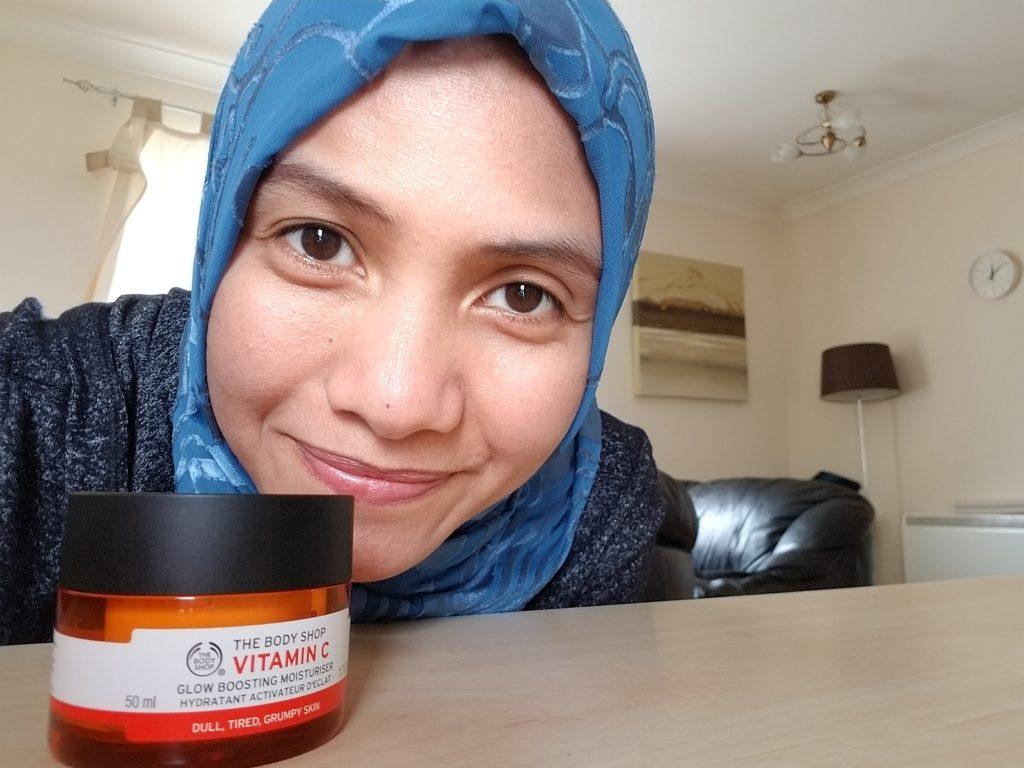 Review The Body Shop Vitamin C Moisturizer