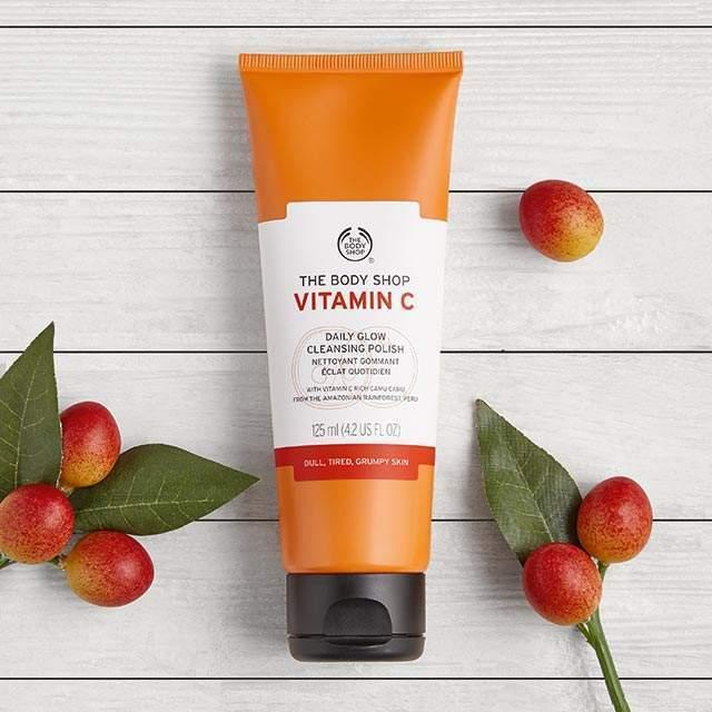 Body Shop Vitamin C moisturizer