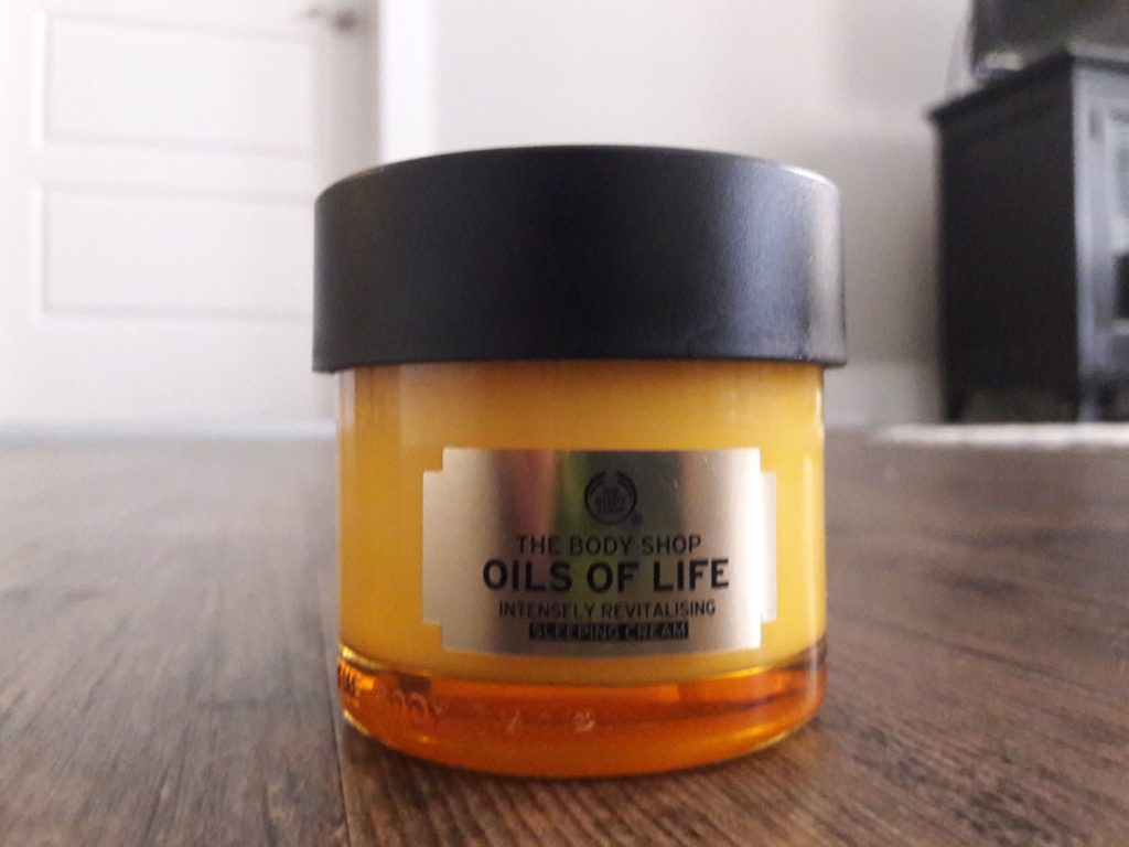 oils of life sleeping cream review