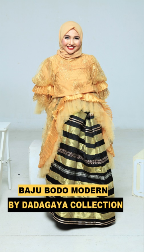 baju bodo modern by dadagaya collection