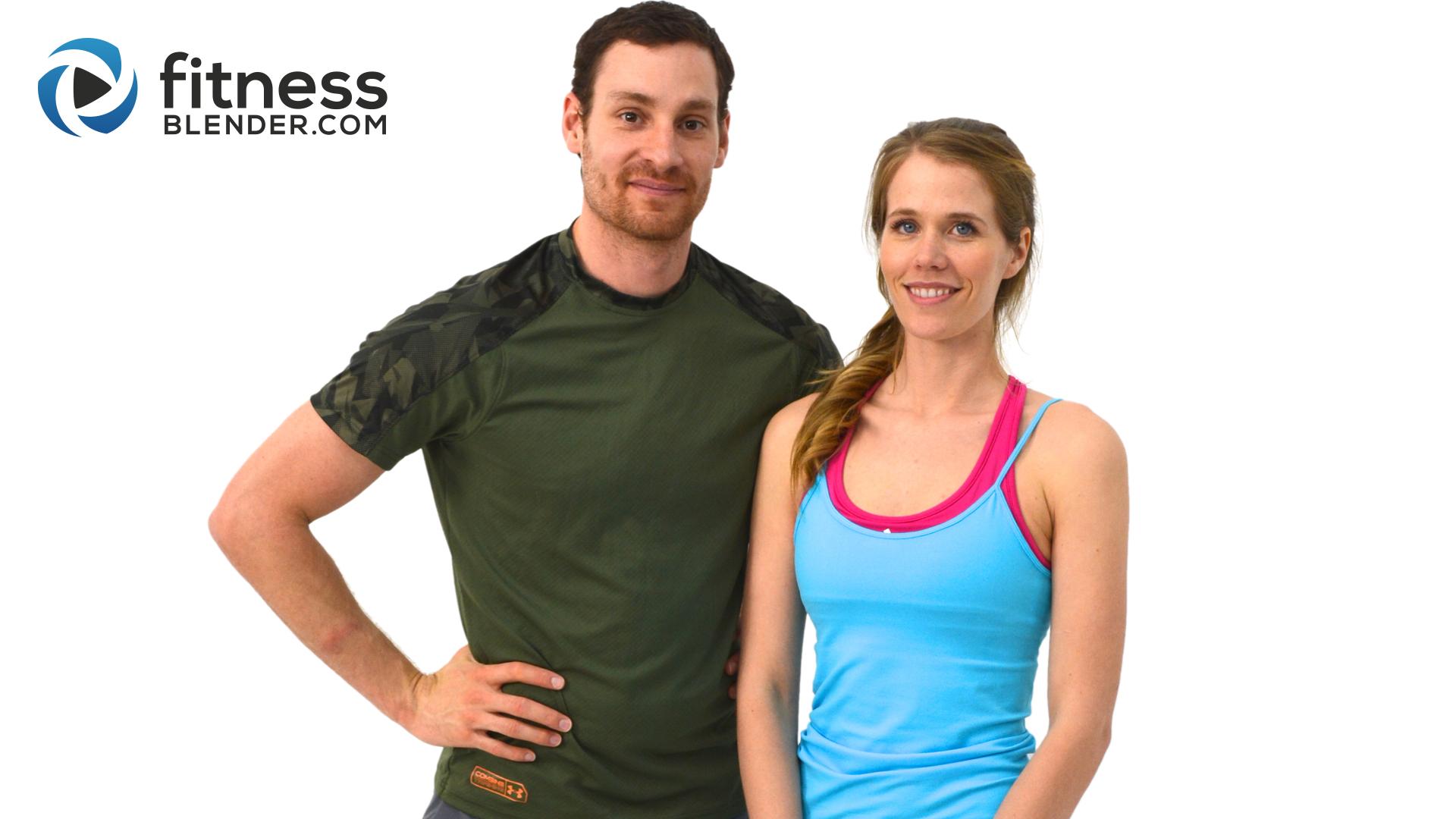 Olahraga di rumah bersama fitnessblender
