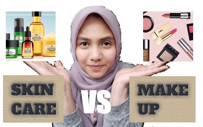 Perbedaan skincare dan make up