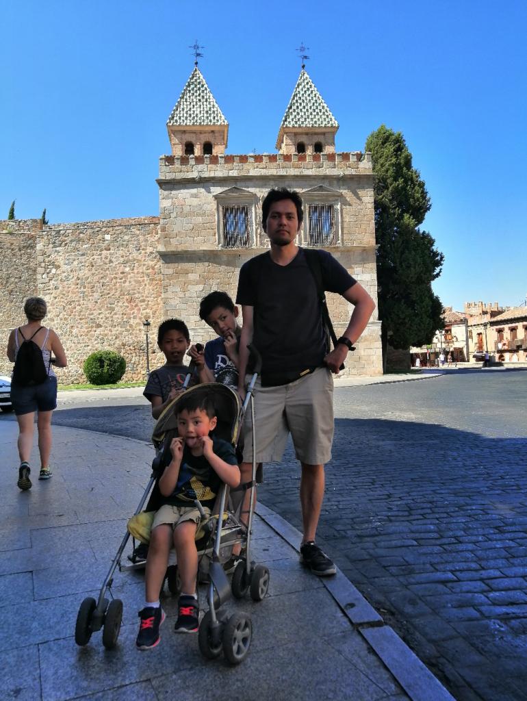 Kota Toledo Spanyol Juni 2019