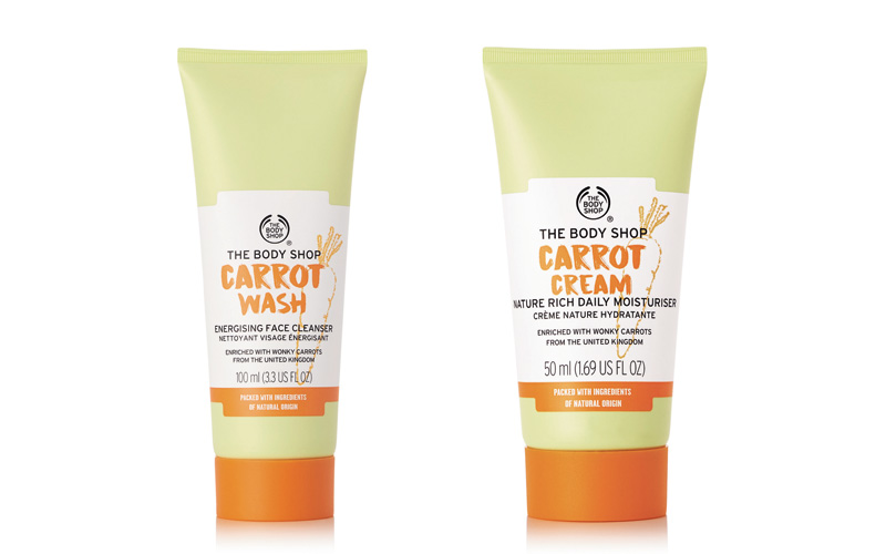 Review The Bo dy Shop Carrot Wash